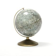 vintage replogle tin moon globe. $50.00, via Etsy.