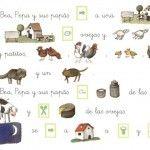 Lectura con pictogramas 9 Reading Comprehension, Peanuts Comics, Spanish, Quilts, A4, Preschool Printables, Nativity Scenes, Quilt Sets, Spanish Language