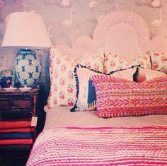 bedroom vignette by jamie meares, via Flickr