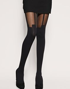 I shouldn't love these tights as much as I do.