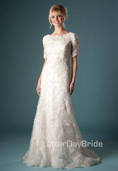 Modest Wedding Dress, Celestial   LatterDayBride & Prom