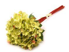 Dekorácie kvety hortenzie 33 cm