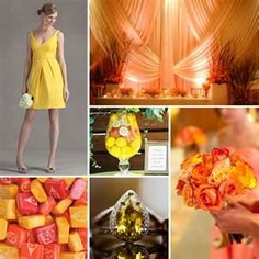 buttercream and mango theme