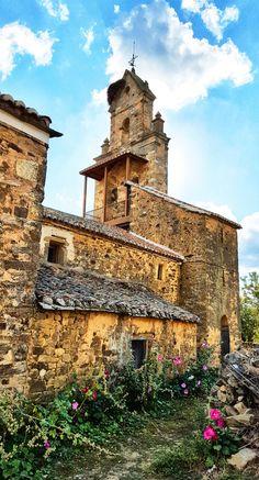 https://flic.kr/p/Bwd5uY | Church in El Ganso on the Camino de Santiago