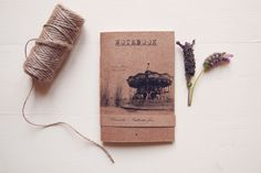 NOTEBOOK Tibi Dabo Handmade Eco friendly by ManuchePostcardsFrom