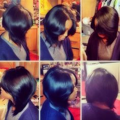 .@karriegreathair | Quick weave ! Jammed ! Bob | Webstagram Sew In Hairstyles, Creative Hairstyles, Short Bob Hairstyles, I Like Your Hair, Great Hair, Short Hair Cuts, Short Hair Styles, Bob Styles, Hair Affair
