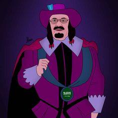 King Abdullah of Saudi Arabia as Governor Ratcliffe from Pocahontas . | 13 Global Politicians As Disney Villains