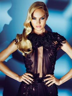 Candice Swanepoel Numero Tokyo...great hair & make up