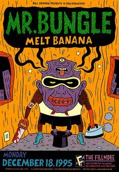 Mr. Bungle & Melt Banana December 18,1995 @ The Fillmore