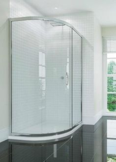 Identiti 1 Door Offset Quadrant Shower Enclosure 6mm Glass 900 x 760mm - Identiti 1 Door Offset Quadrant Shower Enclosure 6mm Glass 900 x 760mm 6mm Glass Adjustable Wall profiles Magnetic Closing Wetroom compatible Quick Release Door System Concealed fittings