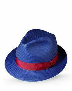 Borsalino cappelli e berretti uomo blu scuro a 145 8ecef0a694ea