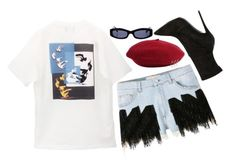 """22 AUG"" by mariimontero ❤ liked on Polyvore featuring Giuseppe Zanotti, M.Y.O.B. and Chanel"