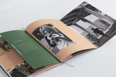 We are the rhoads kati forner design book design дизайн книг Graphic Design Layouts, Book Design Layout, Print Layout, Book Layouts, Booklet Design, Brochure Layout, Brochure Design, Editorial Layout, Editorial Design