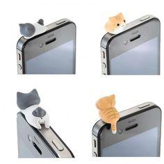 Hermosa decoracion para celular (anti polvo)