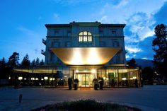 Waldhaus Flims   Mountain Resort & Spa ***** - Eventlocation in Flims Spa Hotel, Bb, Mansions, House Styles, Wedding, Travel, Home, Valentines Day Weddings, Viajes