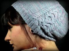 Ravelry: Slouch – a cable knit hat pattern by Brijit Elouise