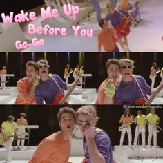 Sam and Blaine as Wham! Best.Thing.EVER!