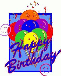 birthday clip art free downloads clipart happy birthday greeting rh pinterest com birthday greeting clipart free birthday wishes clip art for facebook