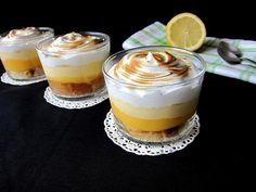 Una pincelada en la cocina: vasitos de crema de limón y merengue