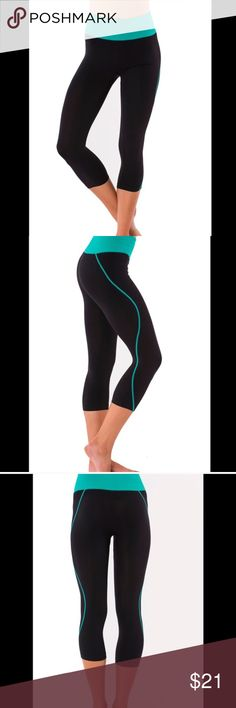💥 Yoga pants | last one | 2x Host Pick  Electric yoga Black Forest Capri with stitching. 88% polyamide, 12% elastane. Size available is XS/S I have included an size chart in the last picture. In my honest opinion, I believe these will fit up to a size 2 maybe a 4 for the XS/SVery comfortable! Electric Yoga Pants Capris