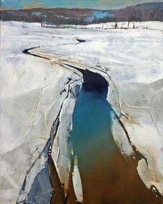 Artist - David Lidbetter Canadian Painter.