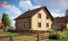 Проект дома C-143 - Проекты домов и коттеджей в Москве House Layouts, Cabin, House Styles, Projects, Home Decor, Cottage Style Houses, Log Projects, Blue Prints, Decoration Home