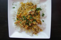 coconut curry chicken main