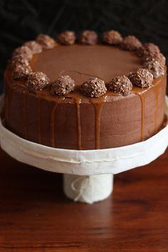 Sunny Side Up in San Diego: Chocolate Hazelnut and Salted Caramel Chocolate Birthday Cake
