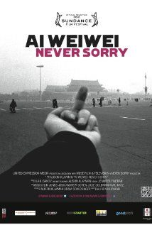 This documentary follows Ai Wei Wei's works and struggles.  It does a great job of showing how important his voice is.  And while opening the doors to all the things wrong in another country, you can't help to see some terrifying similarities over here.