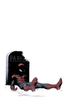 Death of Spider-Man variant by Ed McGuinness (from Ultimate Spider-Man #157)