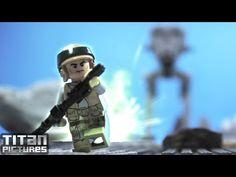 Lego Videos, Stop Motion, Lego Star Wars, Animated Gif, Animation, Humor, Stars, Film, Youtube