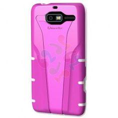 Qmadix Motorola RAZR M Xpression Case - Pink White | RP: $29.95, SP: $24.95