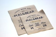 Woven Labels PULL&BEAR