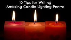 10 Tips for Writing Amazing Candle Lighting Poems-for Bat Mitzvah -hoping Pinterest is still around in 2023!