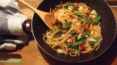 Spagetti, Pesto, Ethnic Recipes, Food, Essen, Meals, Yemek, Eten