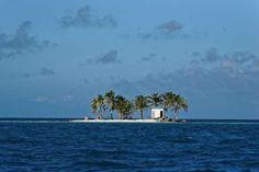 Toilet island, near Placencia, Belize - Tomas/Mahring