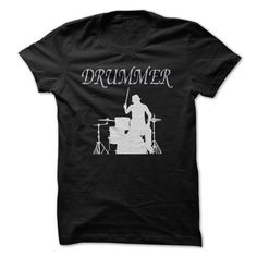 Drummer T-Shirts, Hoodies. Check Price Now ==► https://www.sunfrog.com/No-Category/Drummer-T-shirt.html?41382
