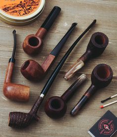 A fresh batch of Ropp Algerian Superior three more shapes in the Vintage Stout line and a striking Cutty for Honoré de Balzac. On site now. http://smokingpip.es/2tUijK5