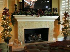 fireplace decor