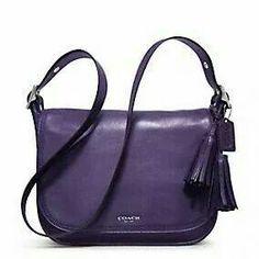 Coach bag in Purple