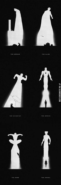 Superheroes: Past and Present