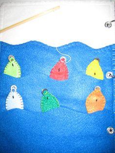Children's Quiet Busy Book Handmade New 9 x 12 Felt Embroidered Hands on Activit | eBay