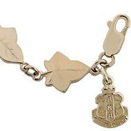 HJGreek | Alpha Kappa Alpha | Bracelets | Ivy Leaf Bracelet, 8 inches.