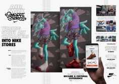Digital marketing case study - Cannes Lions winner: Nike turns graffiti walls into stores in Brazil Grand Prix, E Commerce, Gp Do Brasil, Ar Max, Lions International, Marketing Case Study, Advertising Awards, Supermarket, Graffiti Characters
