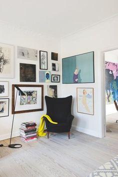 Scandinavian Retreat: Art and colours, wall art Decor, Room, Interior, Home Art, Interior Inspiration, Home, House Interior, Interior Design, Home And Living