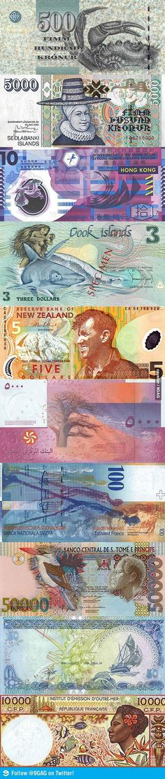 The World's Most Beautiful Banknotes