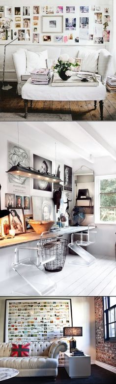 Display Family Photos On Your Walls