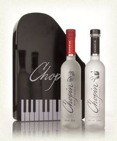 Polish Vodka Gift Sets | Chopin Rye Vodka and Potato Vodka Gift Set