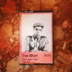 Too $hort Freaky Tales bootleg cassette