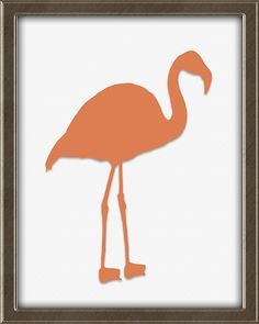 Flamingo print in salmon / coral.  This print is from Quotes for Kids -  Quotes for Kids is a set of twelve matching 8X10, ready to frame and hang wall art prints for children. Perfect for a boy's or girl's bedroom. Colors: teal, coral, avocado, beige, and brown. Click the picture for more info. Framed Wall Art, Wall Art Prints, Teal Coral, Flamingo Print, Quotes For Kids, Bedroom Colors, Girls Bedroom, Art For Kids, Boy Or Girl